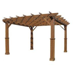 Pergola lemn