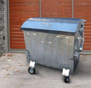 container metalic 1100 l