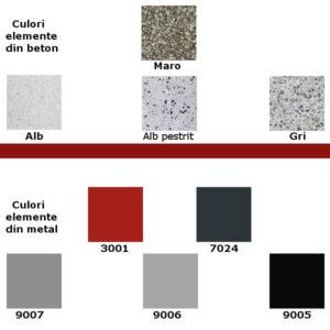 culori beton+metal alb-maro 2021