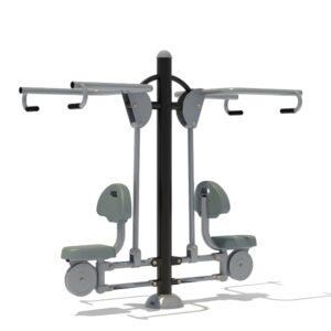 Aparat fitness spate AF101, Urban Market SRL