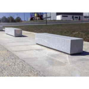 Banca stradala dreptunghiulara din granit UM467