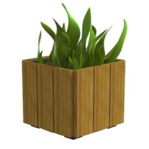 Jardiniera stradala din lemn de pin UM594