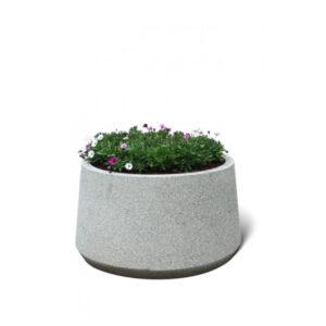 Jardiniera rotunda din beton UM345