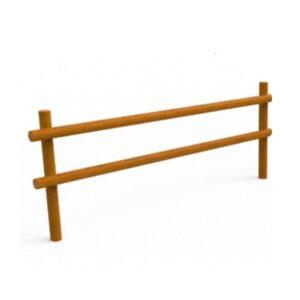 Gard din lemn de pin UM687