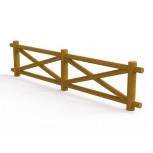 Gard din lemn de pin UM689