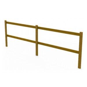 Gard din lemn de pin UM691
