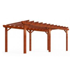 Pergola din lemn tropical UM682