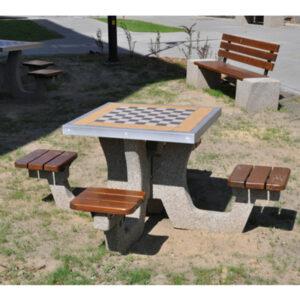 Masa de sah din beton ES185